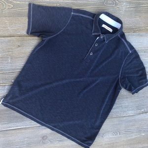 Tommy Bahama 3 Button Polo Shirt Navy XL/T6
